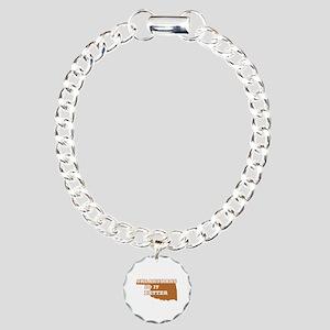 Oklahomans Do It Better Charm Bracelet, One Charm