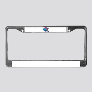 telephone repairman License Plate Frame