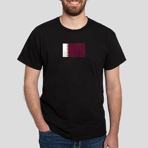 Qatar Black T-Shirt