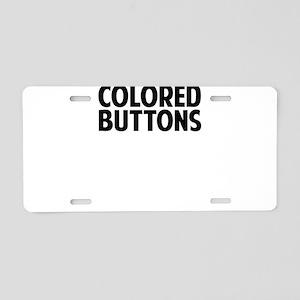 My Guitar Aluminum License Plate