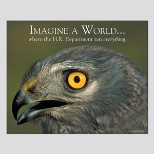 Imagine a World - Satirical Poster