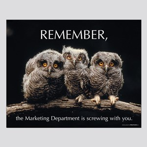 Remember - Satirical Poster