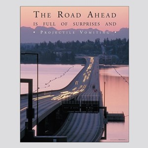 The Road Ahead - Satirical Poster