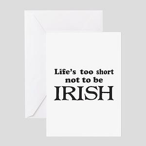 Short Irish Sayings Stationery - CafePress