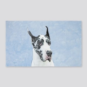 Great Dane (Harlequin) Area Rug