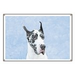 Great Dane (Harlequin) Banner