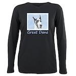Great Dane (Harlequin) Plus Size Long Sleeve Tee