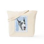 Great Dane (Harlequin) Tote Bag