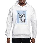 Great Dane (Harlequin) Hooded Sweatshirt