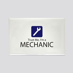 Trust Me Mechanic Rectangle Magnet
