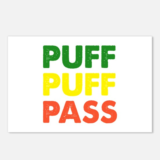 PUFF PUFF PASS Postcards (Package of 8)