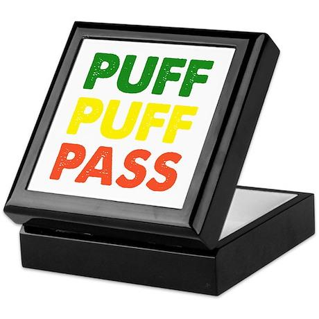 PUFF PUFF PASS Keepsake Box
