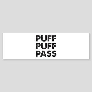 PUFF PUFF PASS Sticker (Bumper)