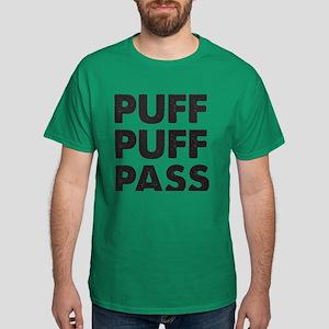 PUFF PUFF PASS Dark T-Shirt