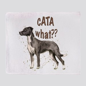 CATA WHAT Throw Blanket