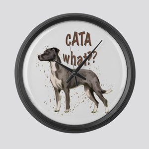 CATA WHAT Large Wall Clock