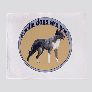 Cool Coolie Dog Throw Blanket
