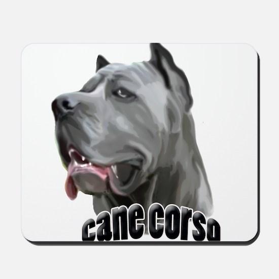 Blue Cane Corso Mousepad