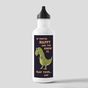 T-Rex Clap Ii Stainless Water Bottle 1.0l
