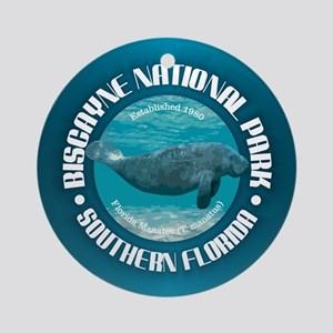 Biscayne National Park Round Ornament