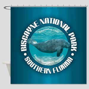 Biscayne National Park Shower Curtain