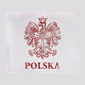 Vintage Polska Throw Blanket