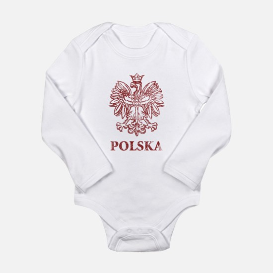 Vintage Polska Long Sleeve Infant Bodysuit