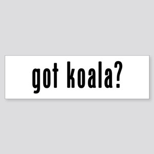 GOT KOALA Sticker (Bumper)