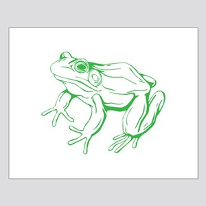 Colorful Frog Small Poster