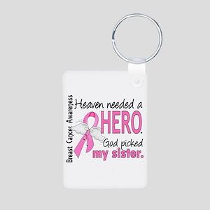 Heaven Needed a Hero Breast Cancer Aluminum Photo