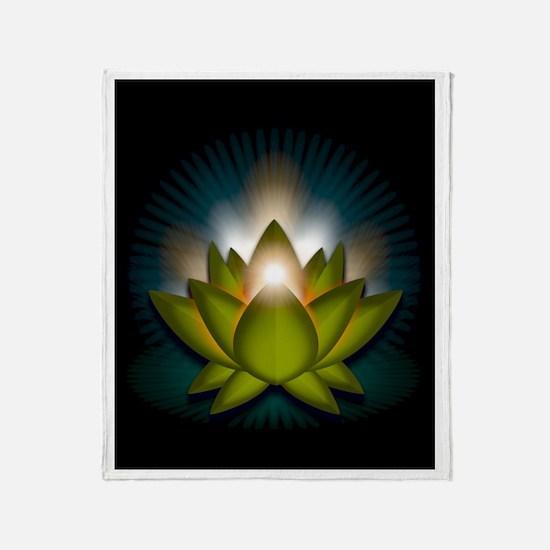"""Green """"Heart"""" Chakra Lotus Stadium Blan"""
