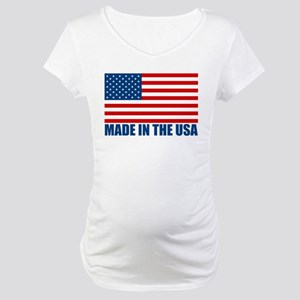 Made in the USA Maternity T-Shirt