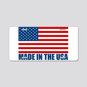 Made in the USA Aluminum License Plate