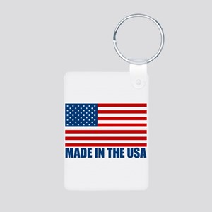 Made in the USA Aluminum Photo Keychain