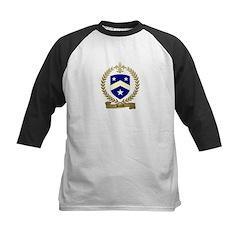 BUJOLD Family Crest Kids Baseball Jersey