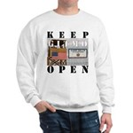 Keep GITMO Open Sweatshirt