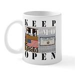 Keep GITMO Open Guantanamo Mug