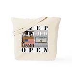 Keep GITMO Open Tote Bag