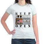 Keep GITMO Open Jr. Ringer T