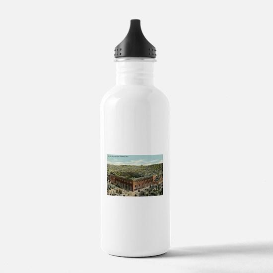 League Park Baseball Stadium Water Bottle