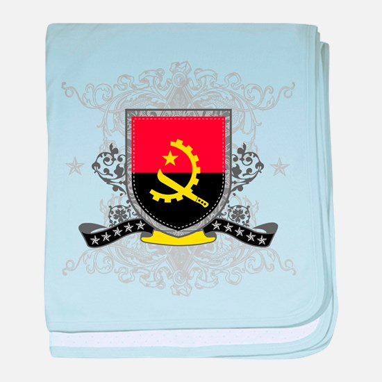 Angola Shield baby blanket