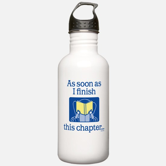 Book Club Water Bottle