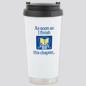 Book Club Stainless Steel Travel Mug