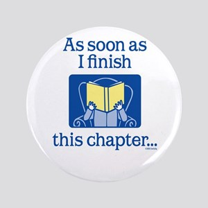 "Book Club 3.5"" Button"