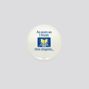 Book Club Mini Button