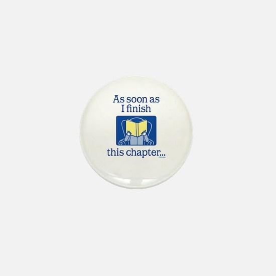 Book Club Mini Button