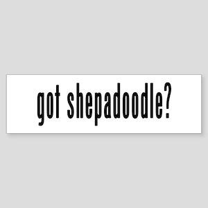 GOT SHEPADOODLE Sticker (Bumper)