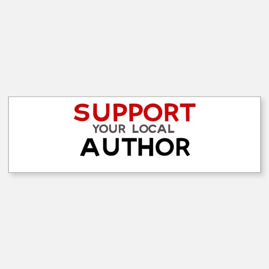 Support: AUTHOR Bumper Bumper Bumper Sticker