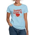 Rosemary Lassoed My Heart Women's Light T-Shirt