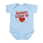 Rosemary Lassoed My Heart Infant Bodysuit
